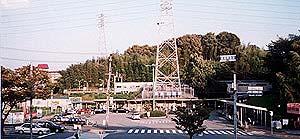 山田駅全景